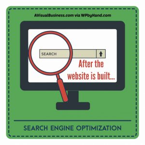 After the website is built, time to optimize your website