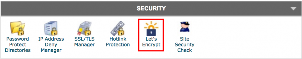 WordPress SSL - Let's Encrypt Icon