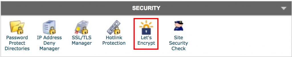WordPress SSL - Let's Encrypt Icon